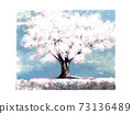 櫻桃樹例證 73136489