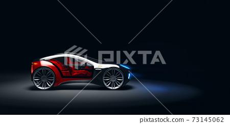 環保混合動力概念車 73145062