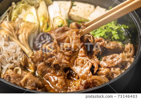 日本牛肉壽喜燒 73146483