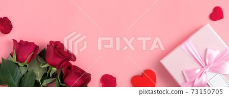 情人節 花束 玫瑰花 禮物 Valentine's Day gift バレンタイン 73150705