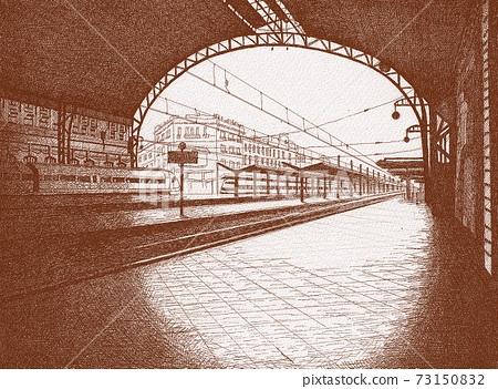 鋼筆劃西班牙Valenciano Le Station 73150832