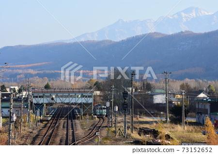 在石北本線神川站下車的普通列車 73152652