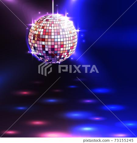 Disco Ball Background 73155245