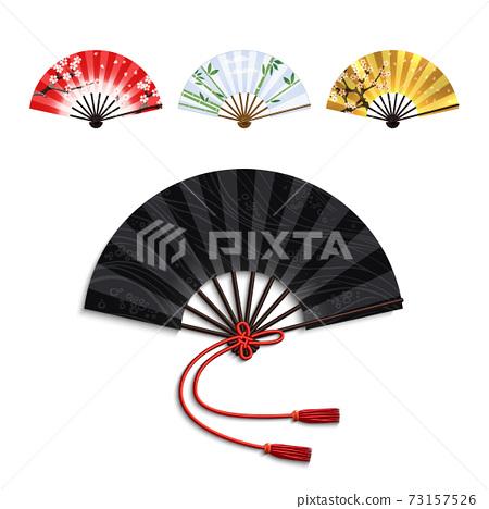 Folding Fan Set 73157526