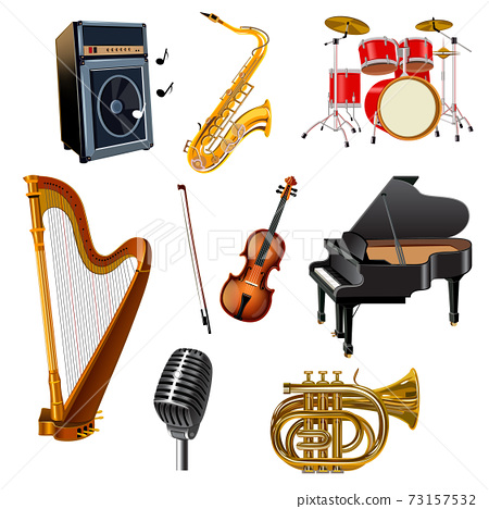 Musical Instruments Set 73157532