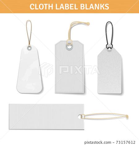 Clothes Label Tags Set 73157612