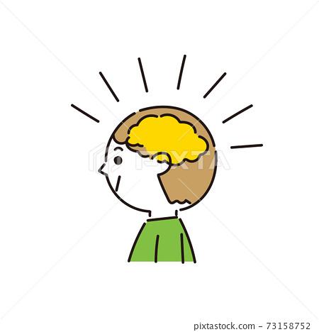 對大腦產生積極影響的男孩 73158752