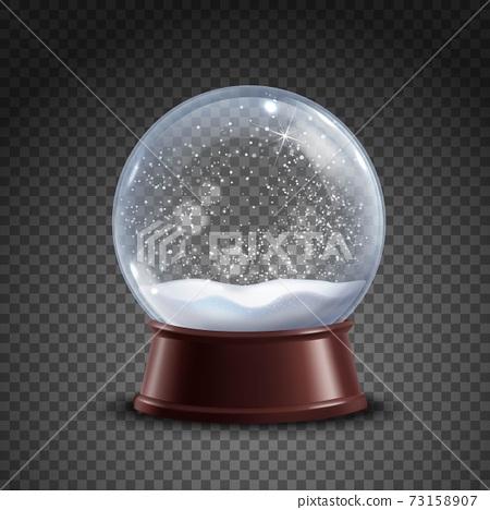 Snow Globe Composition 73158907