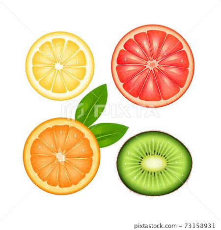 Fruits Top Set 73158931