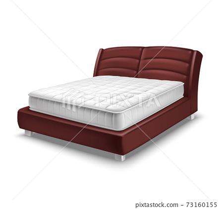 Mattress Bed Realistic 73160155