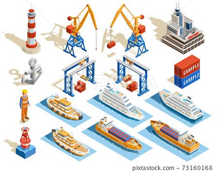 Seaport Isometric Set 73160168