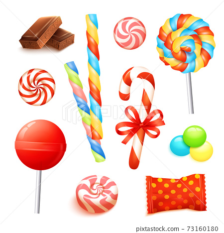 Candy Realistic Set 73160180