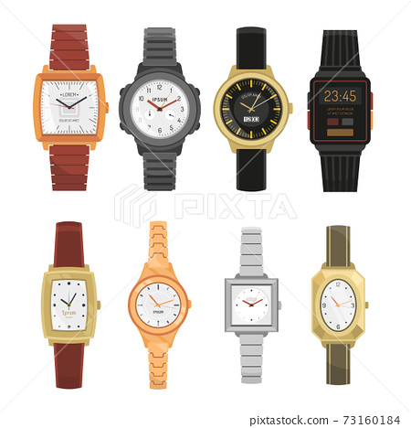Man And Woman Wrist Watches Set 73160184