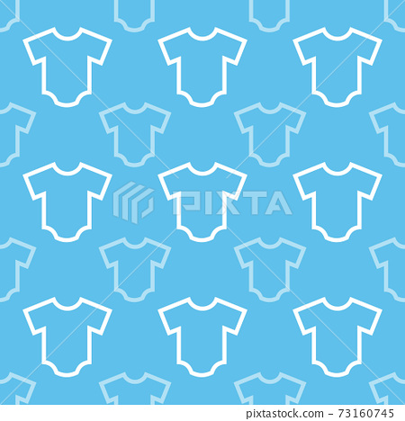 Background baby clothes blue 73160745