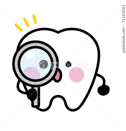 牙齒字符放大鏡 73163061