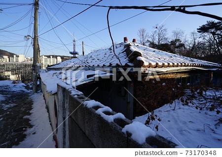정릉골.성북구.골목길.겨울에  73170348