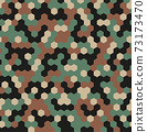 Hexagon Forest Camouflage seamless patterns 73173470