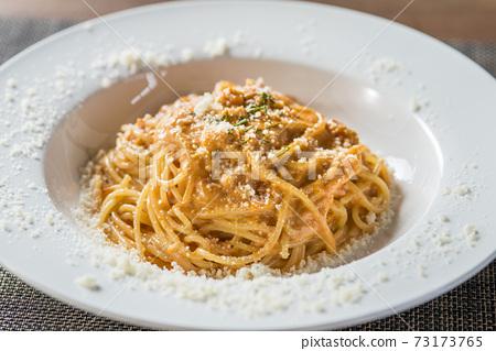 奧馬爾蝦奶油意大利面 73173765