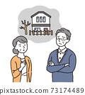 老年夫婦患有空置房問題 73174489