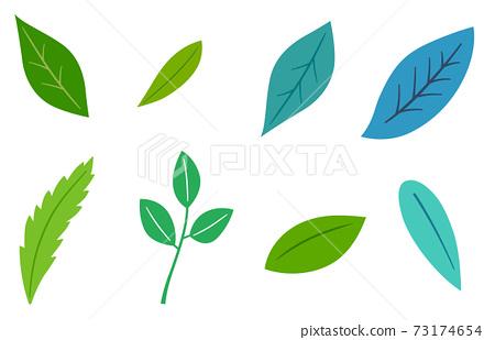 잎 일러스트 세트 73174654
