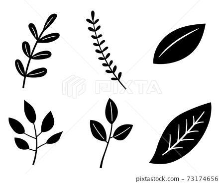 잎 일러스트 세트 73174656