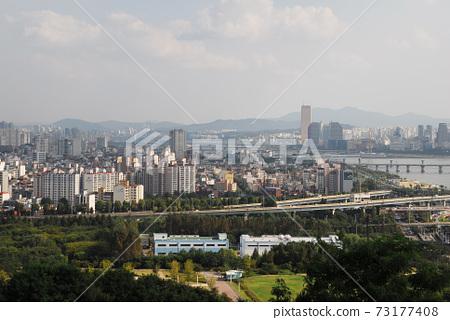 하늘공원.빛내림.월드컵경기장.한강.성산대교.국호 73177408