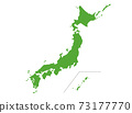 Map of Japan 73177770