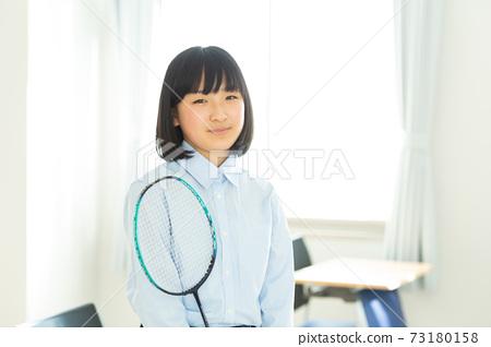 初中學生用羽毛球拍 73180158