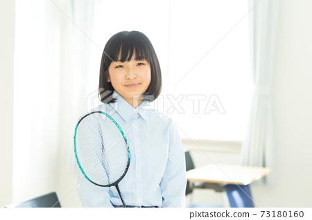 初中學生用羽毛球拍 73180160