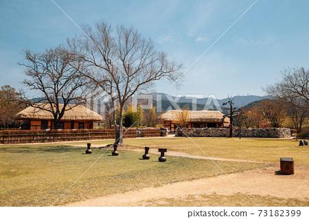 Haemieupseong Fortress at spring in Seosan, Korea 73182399