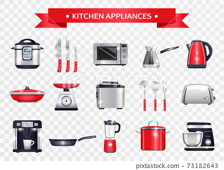 Kitchen Appliances Set 73182643