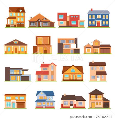 Cottage House Building Set 73182711