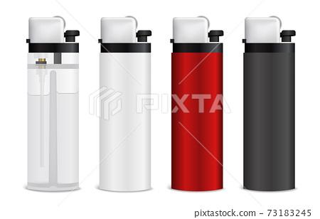 Realistic Lighters Set 73183245