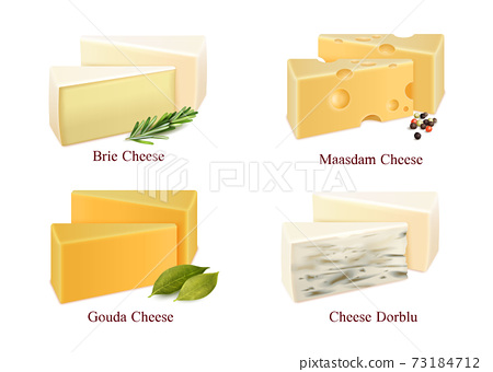 Cheese Kinds Set 73184712