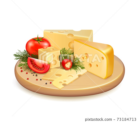 Cheese Vegetables Composition 73184713