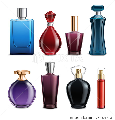 Perfume Colored Glass Bottles 73184718