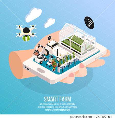 Smart Farm Composition 73185161