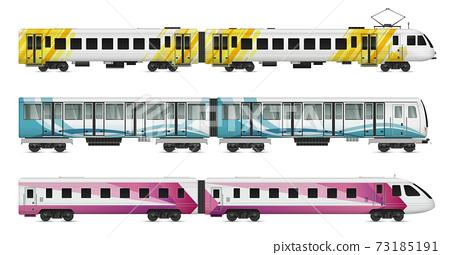 Rail Transport Cars Set 73185191