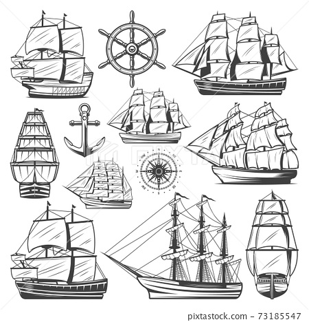 Vintage Big Ships Collection 73185547