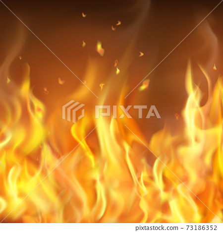 Abstract Hot Burning Firewall Template 73186352