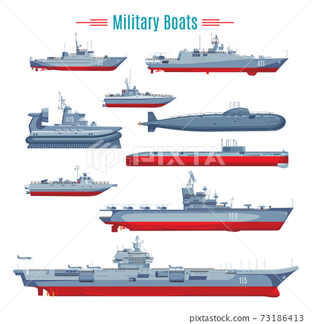 Military Boats Collection 73186413