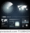 Screen Elements Of Search Radar Set 73186429