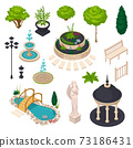 Isometric Elements For City Landscape Constructor 73186431