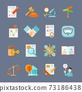 Legal Compliance Icons Set 73186438
