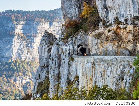 Landscape of Vercors in France - view of Combe Laval, Col del la Machine 73190830