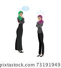 Beauty successful Muslim business women, 73191949