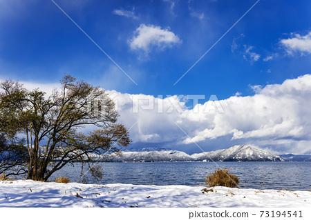 비와코 (12 월 겨울 적설) 73194541