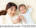 아기와 엄마 이미지 73200360