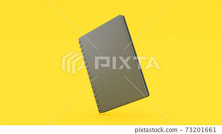 Gray notebook. 73201661