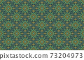 Embroidered ethnic seamless pattern. tribal motifs. Vector illustration. 73204973